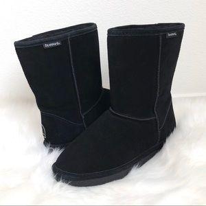 Women's Black Bear Paw Boots